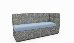 Кухонный уголок прямой диван (12)